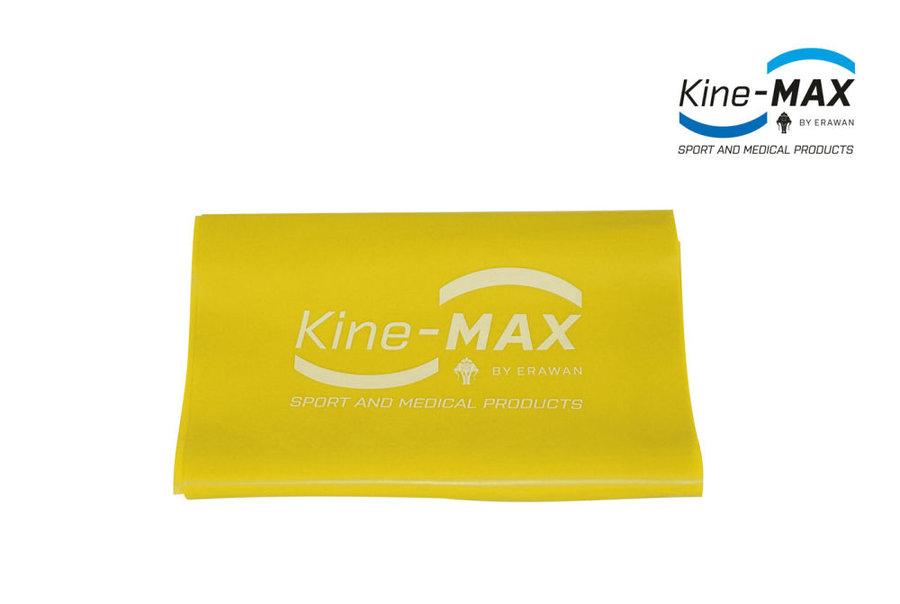 Posilovací guma - Kine-Max Resistance Band Level 1 - žlutá - žlutá