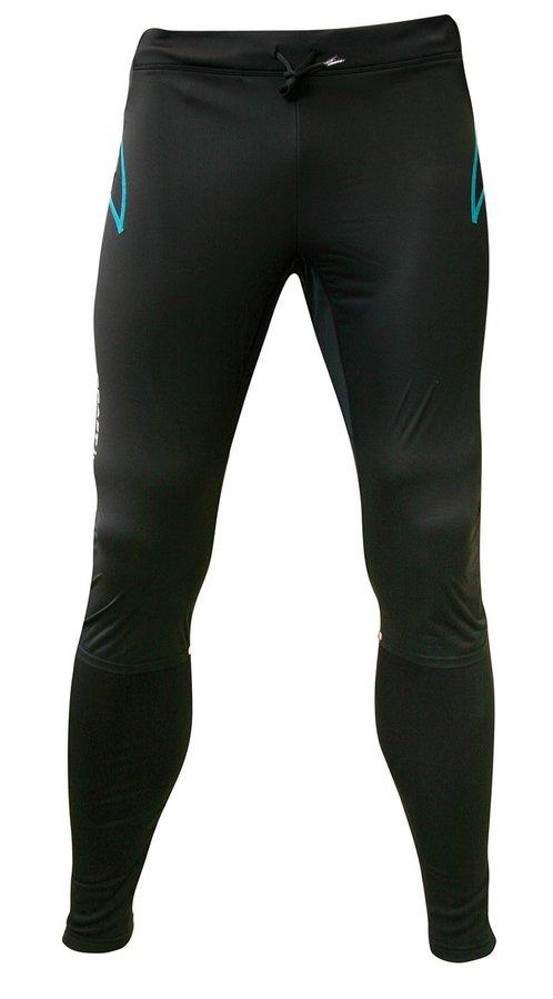 Černé dlouhé pánské běžecké kalhoty Elite XC Train Sweden 4ce91b612b