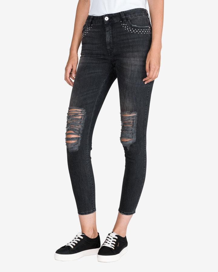 Černé dámské džíny Just Cavalli - velikost 28