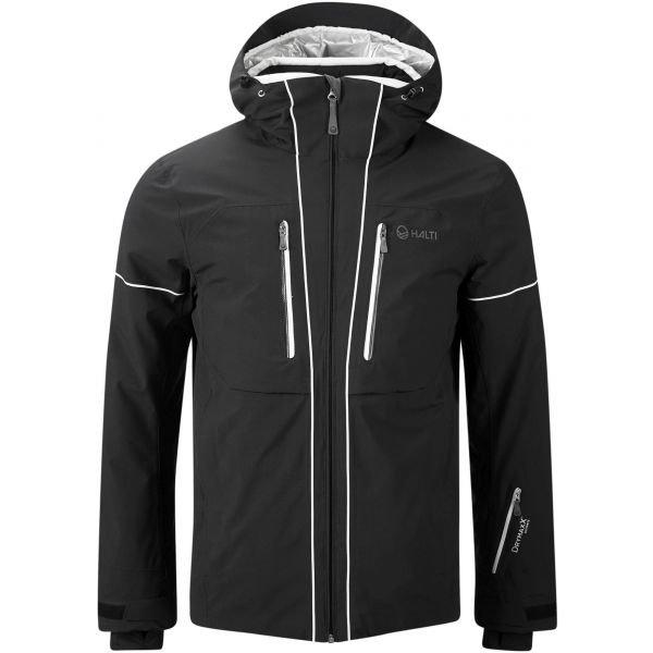 Černá zimní pánská bunda Halti - velikost S