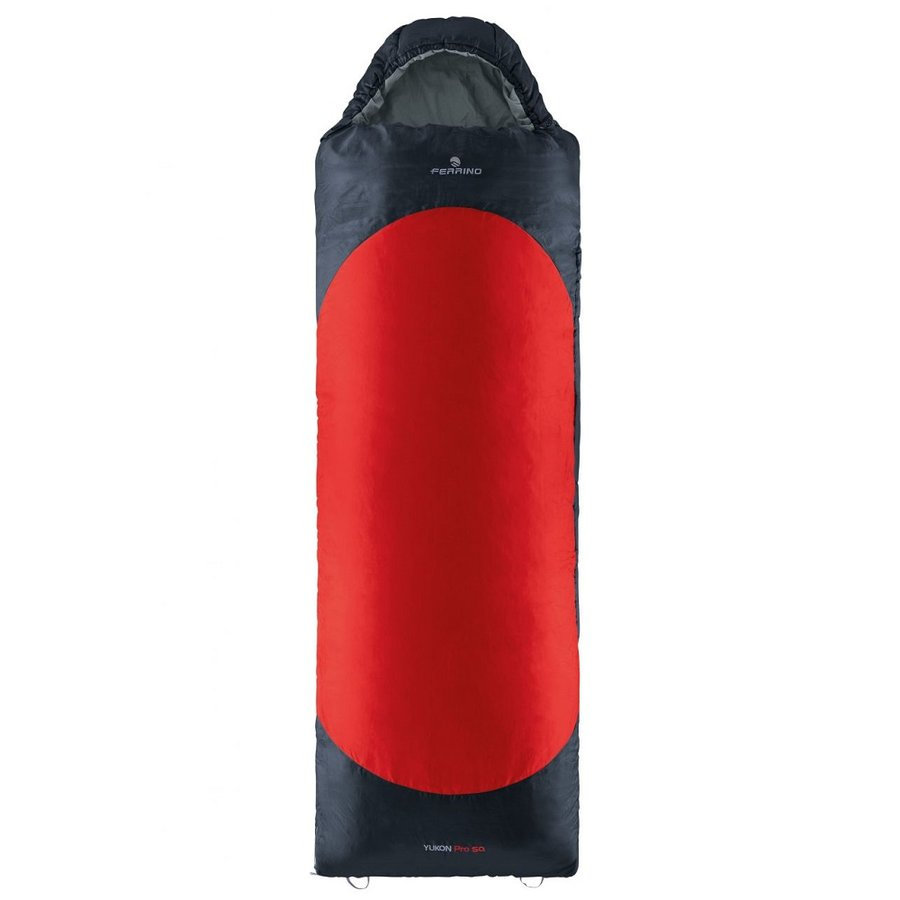 Červený spací pytel Ferrino - délka 220 cm