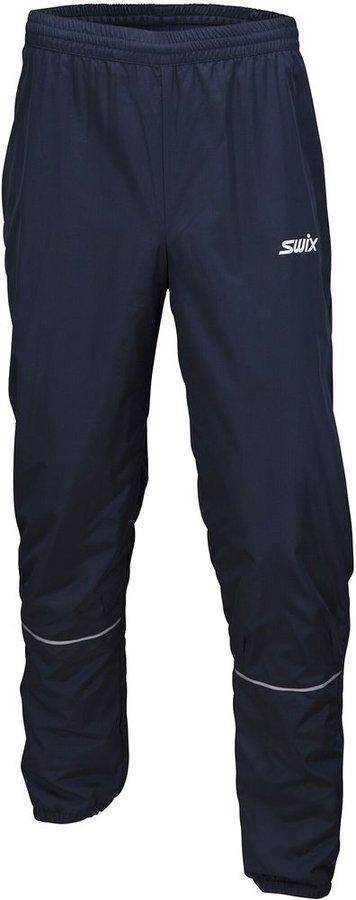 Modré pánské kalhoty na běžky Swix