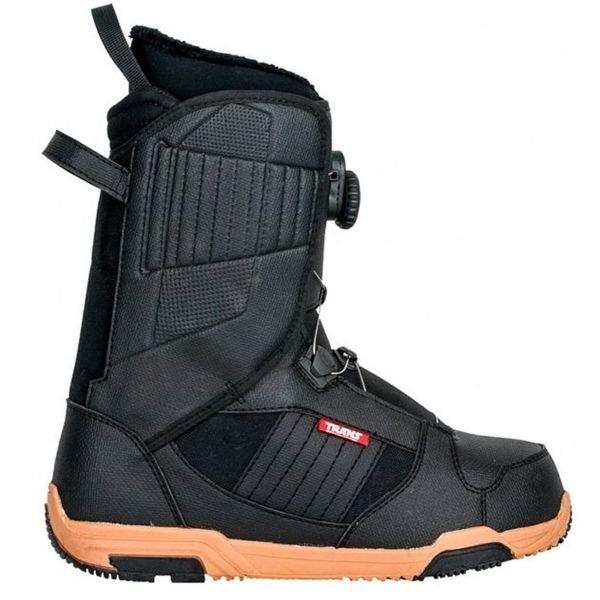 Černé pánské boty na snowboard Trans