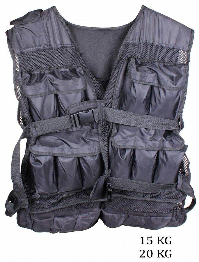 Zátěžová vesta - Merco LS3054 10 kg hmotnost: 10 kg