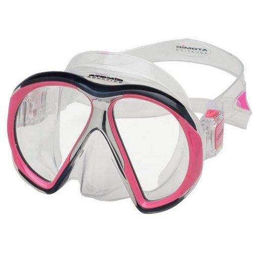 Růžová potápěčská maska Subframe, Atomic Aquatics