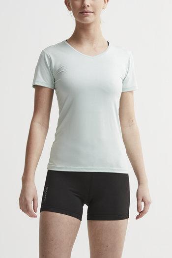 Zelené dámské tričko s krátkým rukávem Craft