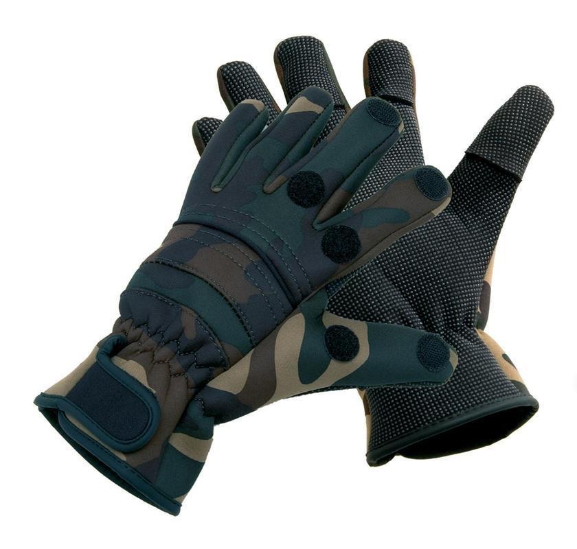 Černé neoprenové rukavice Titanium Neopren PowerRip, Behr - velikost XXL