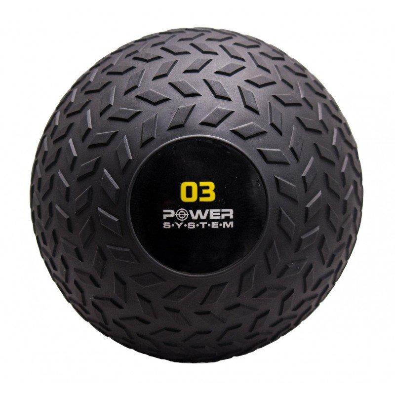 Medicinbal bez úchopů Power System - 3 kg