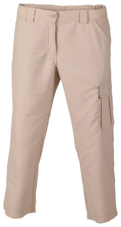 Žluté 3/4 dámské kalhoty Alpine Pro