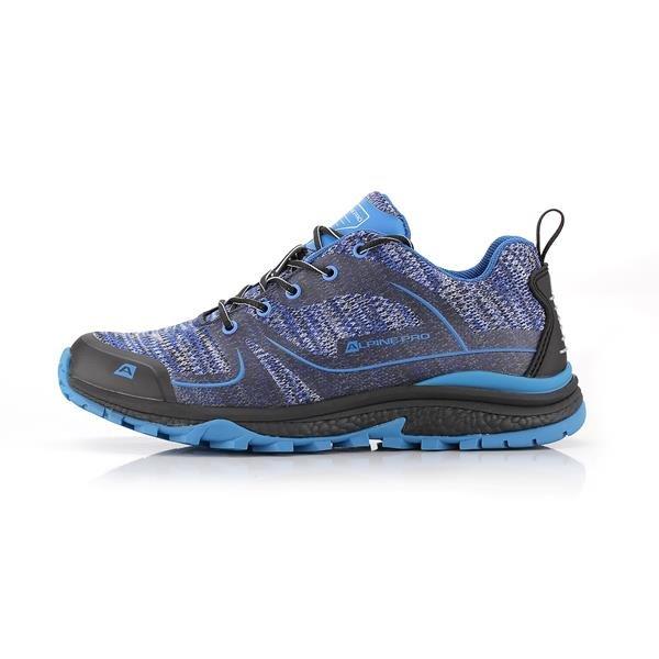 Modré trekové boty Alpine Pro