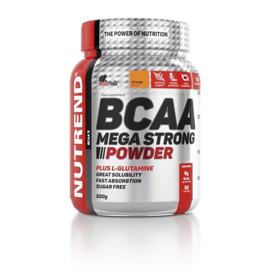 BCAA - NUTREND BCAA Mega Strong Powder 500 g Příchuť: Grapefruit