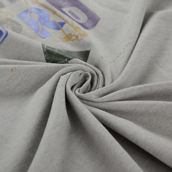 Šedé pánské turistické tričko s krátkým rukávem Alpine Pro - velikost S