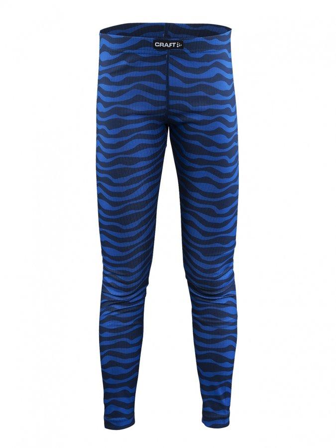 Modré dětské funkční kalhoty Craft - velikost 158
