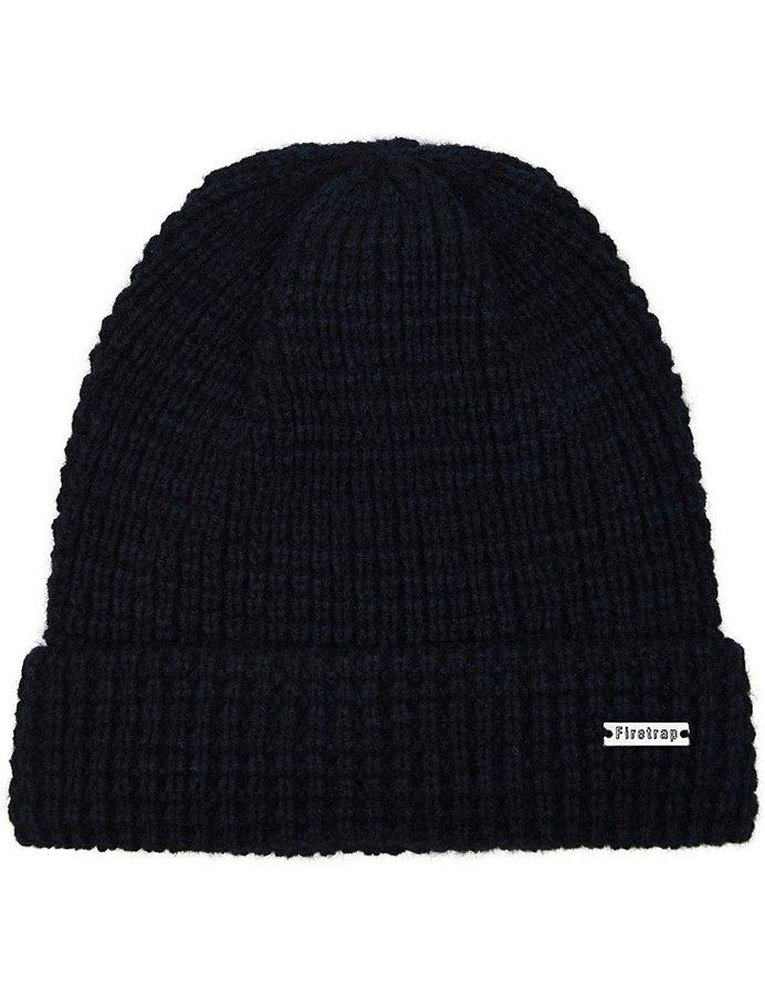 Černá pánská zimní čepice Firetrap
