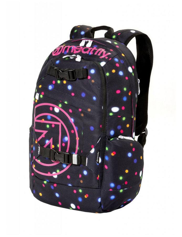 Batoh - Meatfly Basejumper 4 Backpack B - Lights Neon Velikost: JEDNOTNÁ VELIKOST