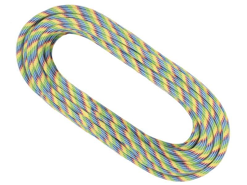 Různobarevné horolezecké lano Mystic, Singing Rock - průměr 10,1 mm