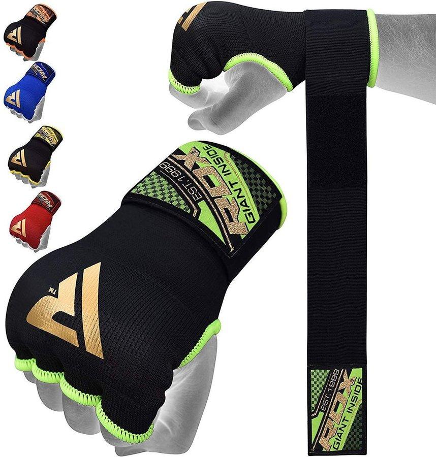 MMA rukavice - RDX HOSIERY INNER STRAP Black- XL