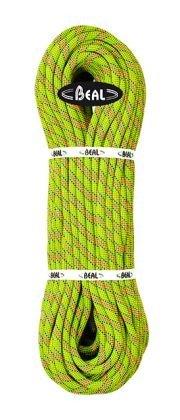 Zelené horolezecké lano Beal - průměr 10 mm a délka 200 m