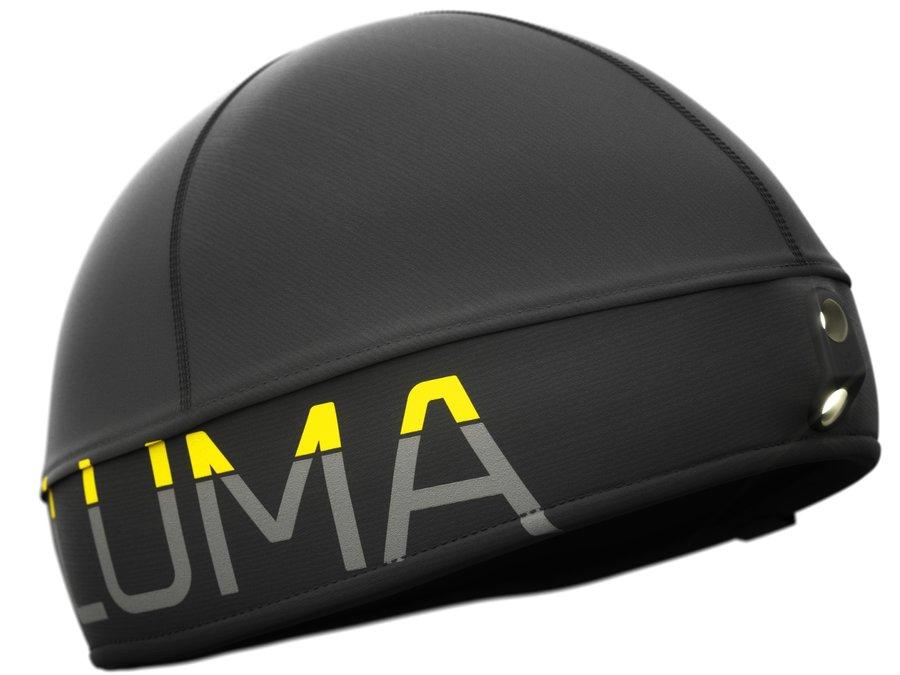 Černá unisex běžecká čepice Active Led Light, LUMA - univerzální velikost