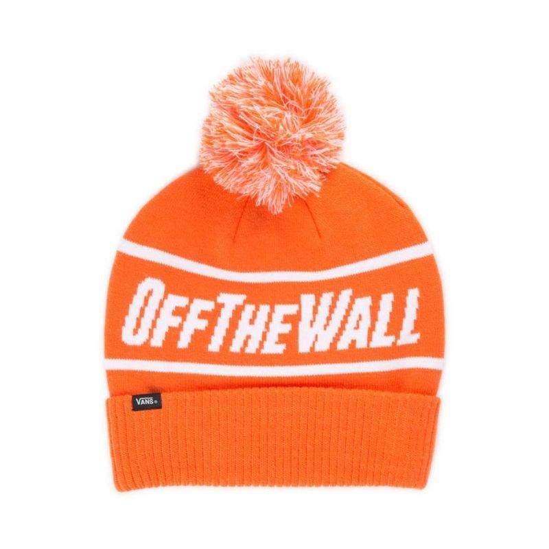 Oranžová zimní čepice Vans - univerzální velikost
