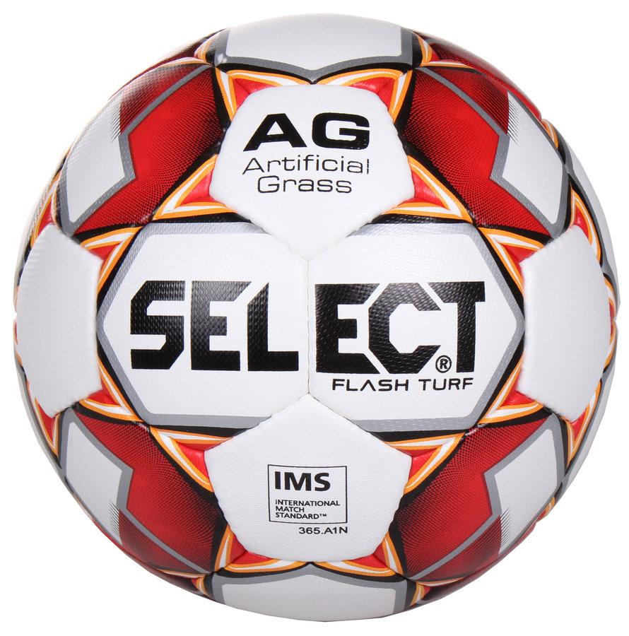 Fotbalový míč - Select FB Flash Turf bílá č. 5