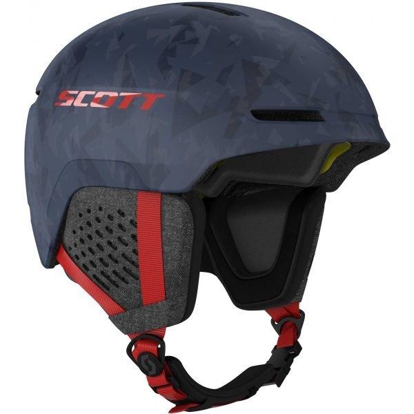 Modrá lyžařská helma Scott