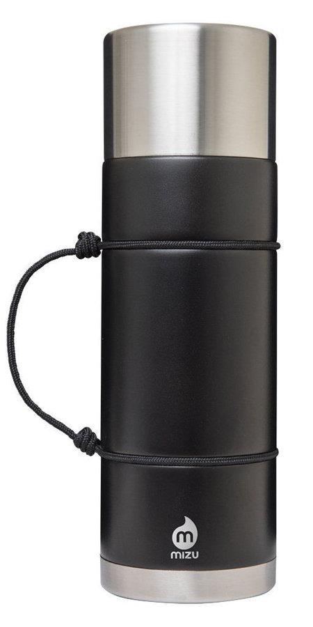 Černá termoska na pití Mizu - objem 1 l
