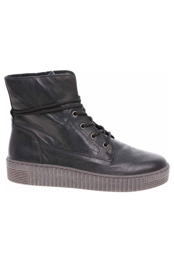 Černé dámské kotníkové boty Gabor - velikost 38,5 EU