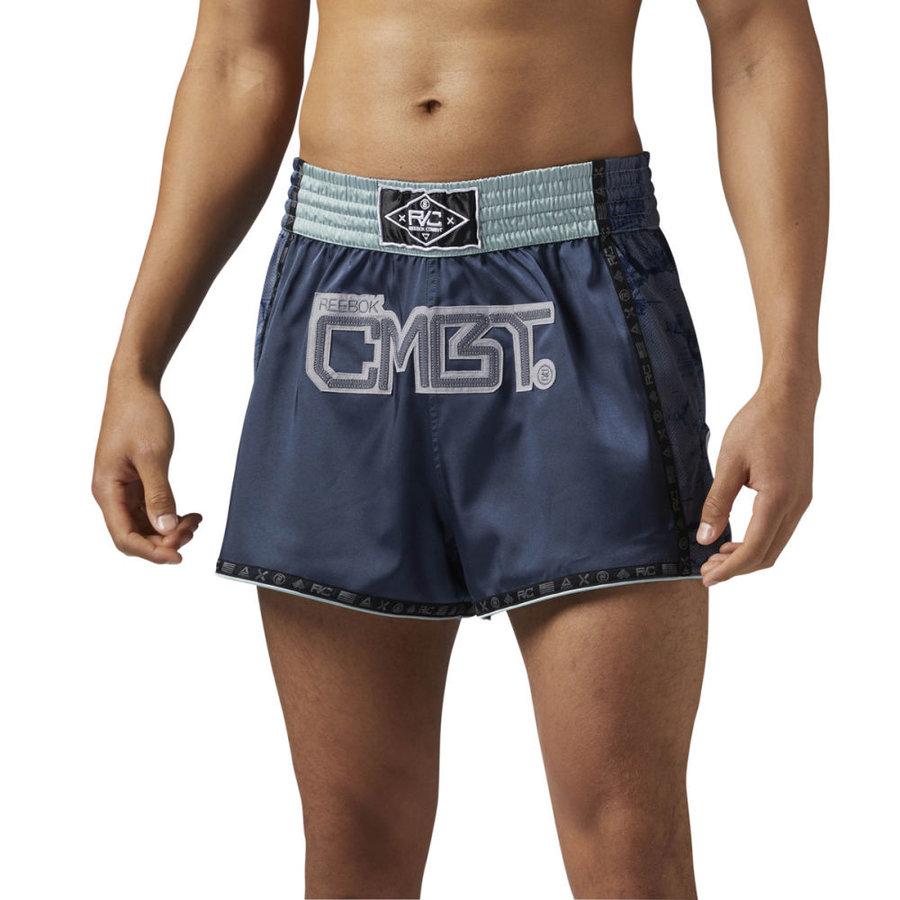 Modré thaiboxerské trenky Reebok