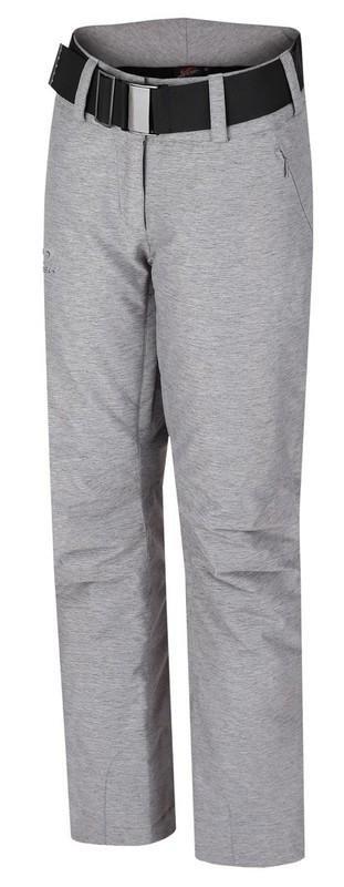 Šedé dámské lyžařské kalhoty Hannah - velikost 42