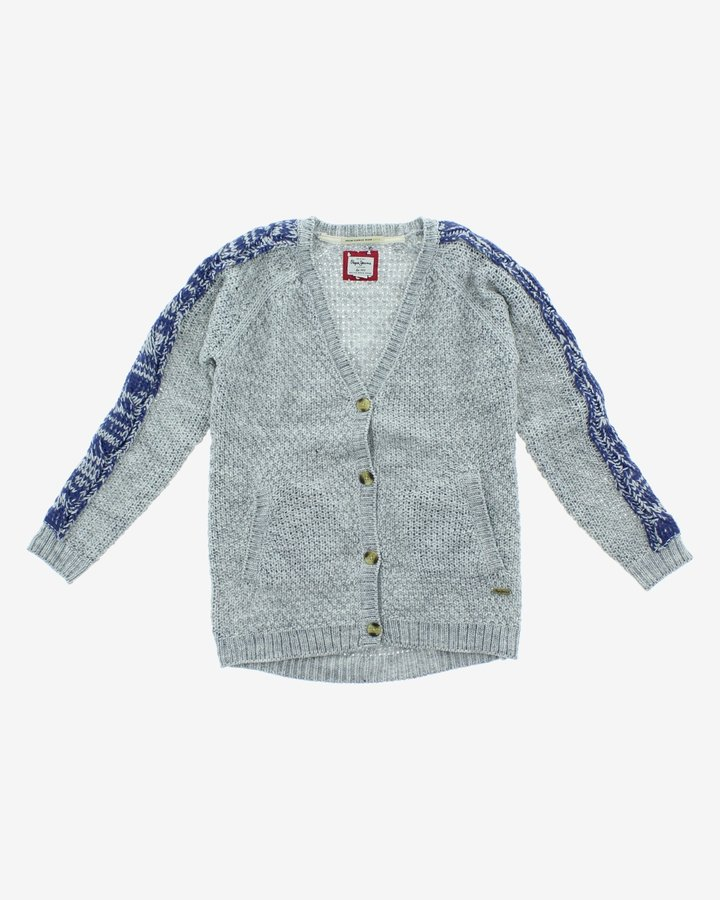 Šedý dívčí svetr Pepe Jeans