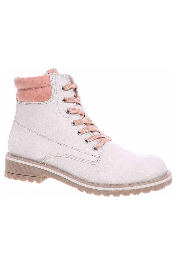 Šedé dámské kotníkové boty Marco Tozzi - velikost 41 EU