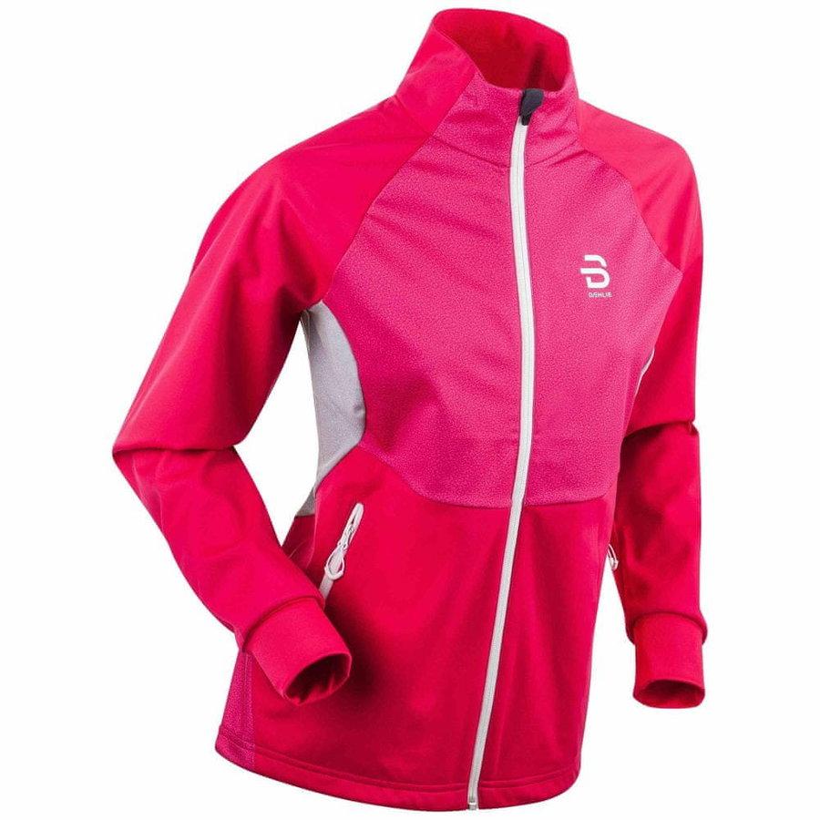 Růžová dámská bunda na běžky Bjorn Daehlie