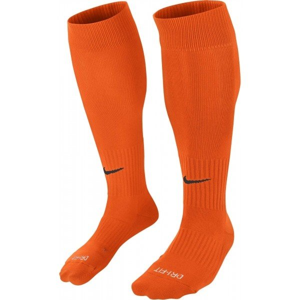 Oranžové pánské fotbalové štulpny Nike