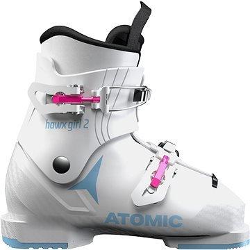 Bílé dívčí lyžařské boty Atomic - velikost vnitřní stélky 20 cm