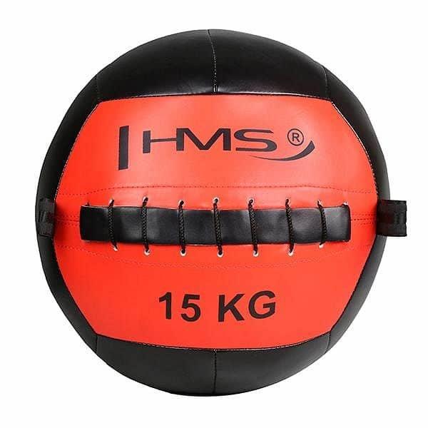 Medicinbal bez úchopů HMS - 15 kg