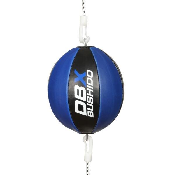 Černo-modrý boxovací míč BUSHIDO - průměr 21,6 cm