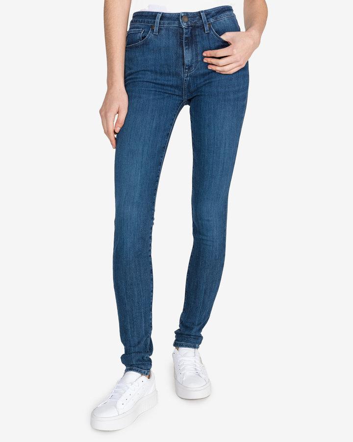 Modré dámské džíny Tommy Hilfiger