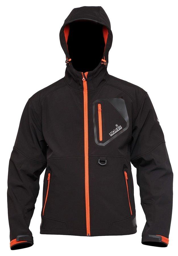 Černá rybářská bunda Norfin