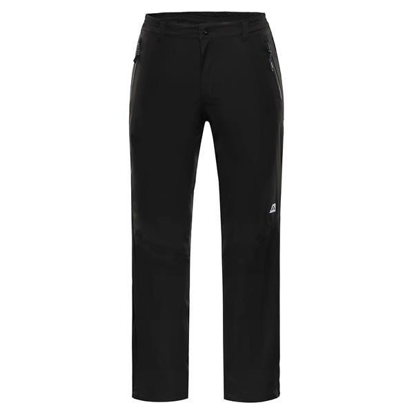Růžové softshellové pánské kalhoty Alpine Pro - velikost 56