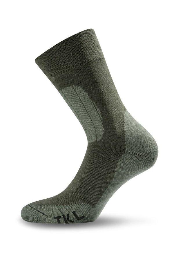Zelené pánské ponožky Lasting - velikost 34-37 EU