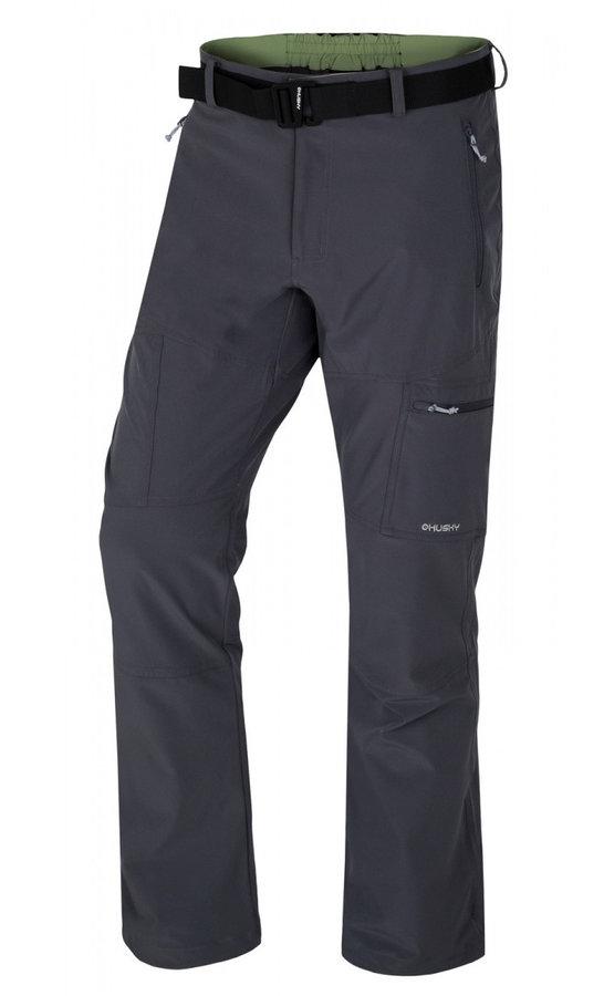 Šedé pánské kalhoty Husky - velikost M