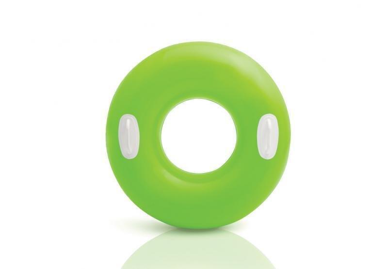 Zelený nafukovací kruh INTEX