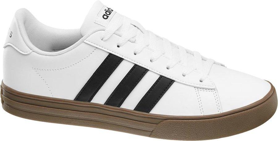Bílé pánské tenisky Adidas - velikost 42 2/3 EU