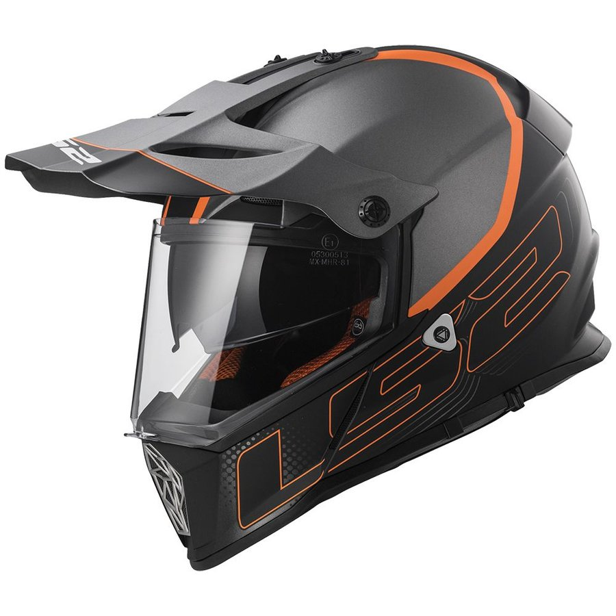 Helma na motorku LS2