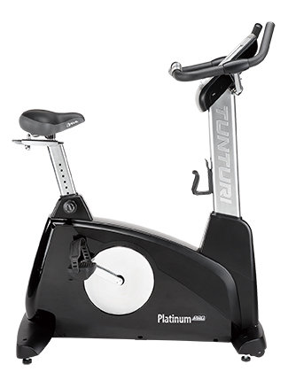 Ergometr PLATINUM PRO Upright Bike, Tunturi - nosnost 150 kg