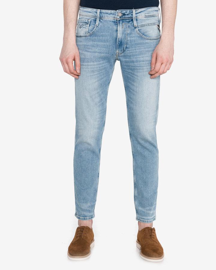 Modré pánské džíny Replay - velikost 34