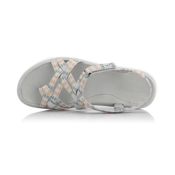 Šedé dámské sandály Alpine Pro - velikost 36 EU