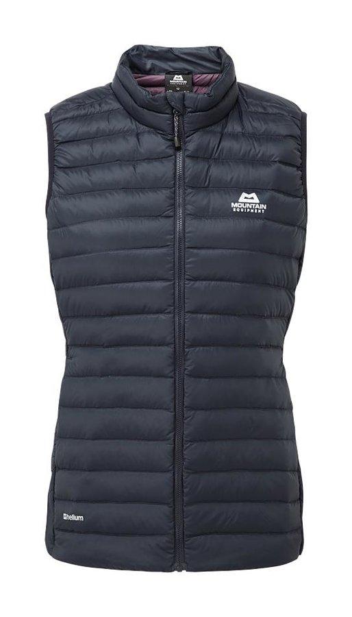 Černo-modrá zimní dámská vesta Mountain Equipment
