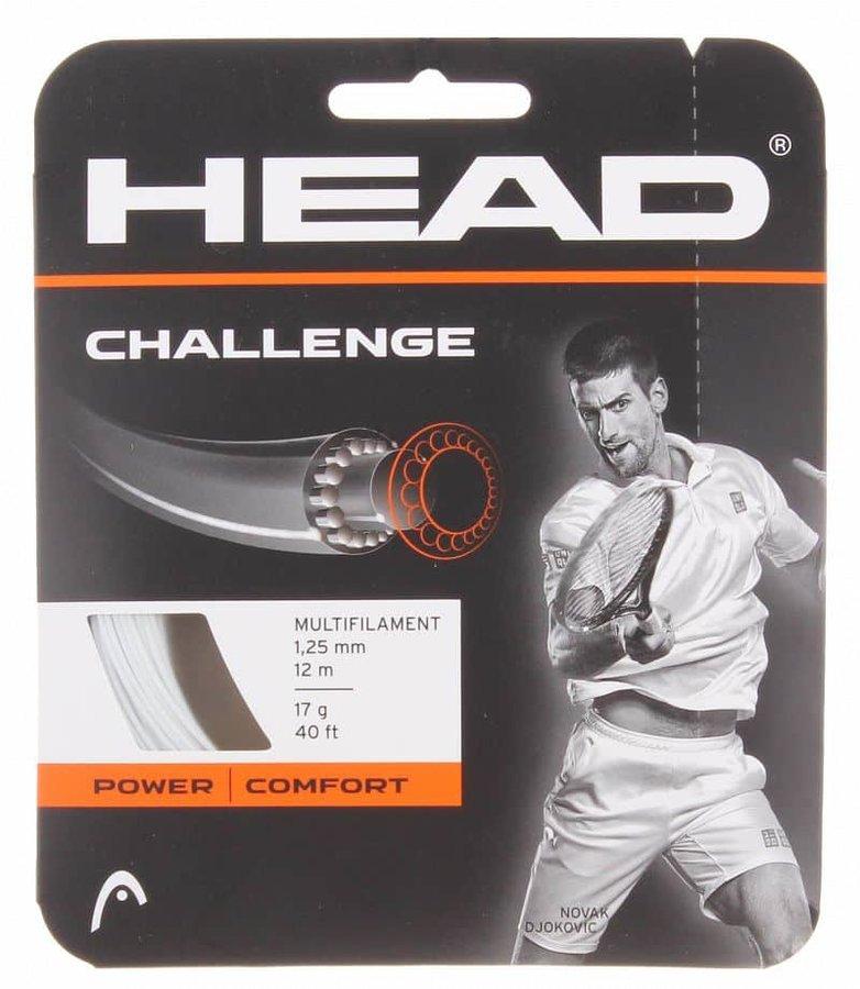Tenisový výplet - Challenge tenisový výplet 12 m barva: bílá;průměr: 1,35